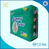 Пеленка устранимого солнечного младенца высокого качества оптовой продажи фабрики Китая сонная в Bales