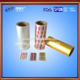 20-25 folha de alumínio farmacêutica de Ptp do mícron