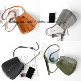 간단한 작풍, Crossbody 어깨에 매는 가방, PU 핸드백, 디자이너 핸드백