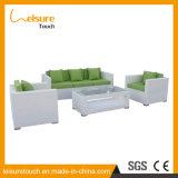 Patio-Gartenmöbel Aufenthaltsraum-Weidenstuhl-Sitzen-Raum-Rattan-Hand-Woven Sofa-Set