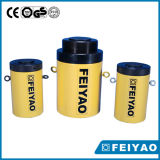 Single Acting 800t Safety Mechanical Lock Nut Cilindro Hidráulico Padrão
