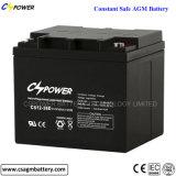 Cspower загерметизировало свинцовокислотную батарею SLA 12V 38ah для UPS