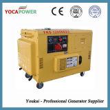 электрический портативный звукоизоляционный тепловозный комплект генератора 10kVA