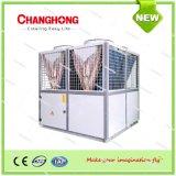 Refrigeratore e sistema di refrigerazione aria-acqua modulari della pompa termica