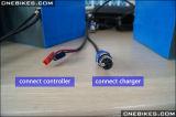 Batterij van het Pakket van Ebike 48V 20ah de Li-Ionen voor Elektrische Fiets
