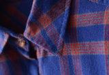 형식 여자 입기를 위한 긴 소매 검사 Flannel 여자 셔츠