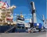 Grue marine de paquet de bateau de boum hydraulique électrique de porte-fusée