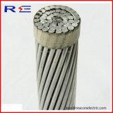 Conductor de aluminio de Reniforced ACSR del alambre de acero del conductor