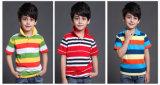 2017 نمو 100% قطر أطفال رياضة لباس لعبة البولو [ت-شيرت]