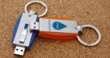 Venda por atacado popular que desliza a movimentação Push-Pull do flash do USB do metal