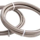 Boyau flexible de la tresse lisse PTFE d'acier inoxydable