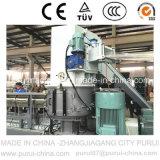 Constructeur fiable de système de réutilisation automatique de pelletisation de plastique