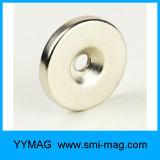 Neodym-/NdFeB Ring-Potenziometer-Magnet angesenkter Loch-Magnet