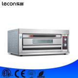 De enige Elektrische Oven van de Dienbladen van het Dek Dubbele voor de Prijs van het Baksel van het Brood