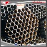 Tianjin a fabriqué la pipe vernie par noir d'acier du carbone d'ERW