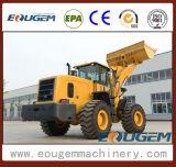 Eougem cargador de la rueda del precio bajo de 6 toneladas con el compartimiento 3.5cbm
