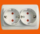 De Europese Waterdichte 2p+T Contactdoos van Schuko met Blind (S8510)