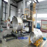 De grote Machine van het Lassen van de Pijp van de Diameter Roestvrij staal Genaaide