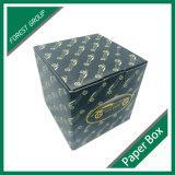 無光沢のラミネーションが付いている黒によって印刷されるボール紙の紙箱