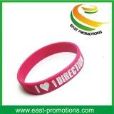 Bracelet 100% de silicones de coutume pour la promotion