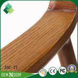 椅子を販売(ZSC-77)に食事する使用する旧式な様式の木の肘掛け椅子