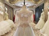 Neue verbindungs-Hochzeits-Kleider der Ankunfts-2017 Mehrfarbenmit Schal