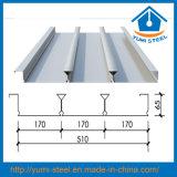 Gewölbte galvanisierten Stahlbeton-Fußboden-Stützdecking-Blätter