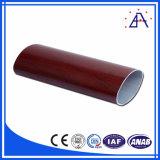 Tubo de aluminio oval del OEM del ODM