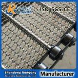 Correia Chain do engranzamento do aço inoxidável de correia transportadora do fabricante