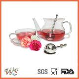 Matériau réglé d'acier inoxydable de filtre de thé d'Infuser Metail de bille de thé de Ws-If007s