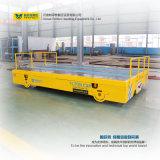 Gussteil-Baugruppen-Transport-Wagen-elektrischer flacher Träger auf Schienen