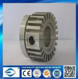 表面のナーリングの精密CNCによって機械で造られる金属部分