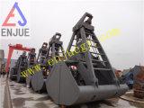 Vier Seil-mechanische Maschinenhälften-Zupacken-Wanne für Korn