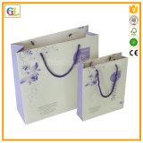 Documento del sacco di carta del regalo di promozione con stampa di colore
