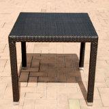 Neues Entwurfs-hoher Standard PET Rattan-Garten-Patio-Möbel-Hotel-Stuhl-Tisch-Set