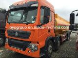 Sinotruk T5g 10X4 18000Lのアルミニウム燃料タンクのトラック