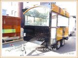 Remorque mobile de barre de restaurant de stalle de la nourriture Ys-Ho350 de nourriture de remorque mobile de chariot