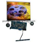 Monitor LCD SKD de 10,4 polegadas com tela sensível ao toque, entrada DVI HDMI
