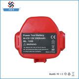 reemplazo Ni-CD de la batería recargable de 12V 1.5ah-2.0ah para Makita Mak-12V