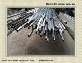 Het kleine Roestvrij staal laste de Vierkante Buis van de Precisie