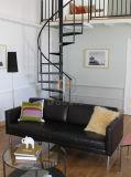 대중적인 나선형 계단 홈 디자인 또는 나무로 되는 나선형 계단