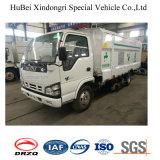 4cbm Isuzu Qinglingの道掃除人の塵の吸引のトラック
