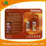 2016 Nueva personalizada claro colorido caja de embalaje de plástico de almacenamiento de PVC