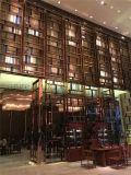 호텔 가구 제작 스테인리스 전시 선반 예술적인 선반은 많은 색깔을 할 수 있었다