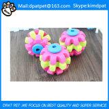 Multi color Puzzle Molar juguete de goma del perro de perrito
