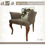 Обитый удобный стул подлокотника гостиницы (JY-F89)
