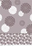 Mantel plástico impreso aduana caliente de la venta con la alta calidad LFGB del tejido del Nonwoven/de fondo