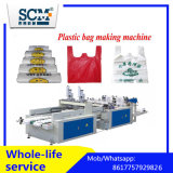 Plastiktasche, die Maschinen-/Shirt-Beutel maschinell bearbeiten lässt/den Weste-Beutel herstellt Maschine