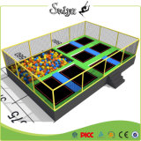 Chinesischer Fabrik-Lieferanten-im Freientrampoline-Spiel für Kinder
