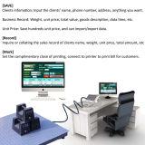 Échelle électronique industrielle de pesée de plancher électronique